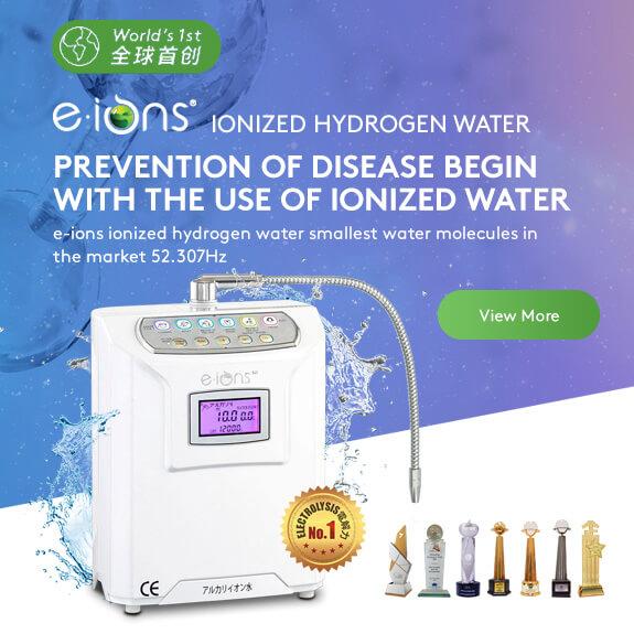 Ionized Hydrogen Water