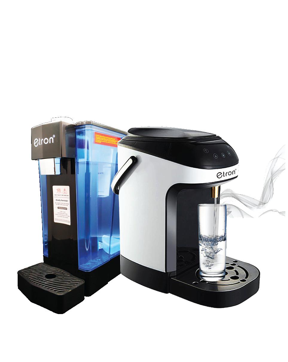 eTRON 2 Sec Instant Hot Water Dispenser